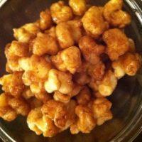 Home Made Caramel Corn Puffs