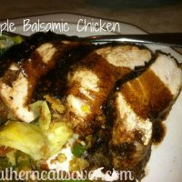 Simple Balsamic Chicken Recipe (Plus Zaycon Foods Review)