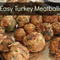 Stockpile Cooking: Turkey Meatballs
