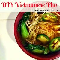 DIY Vietnamese Pho