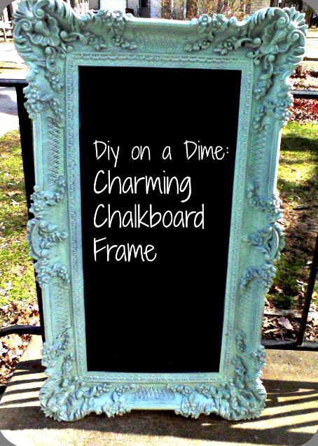 chalkboard frame - Diy Chalkboard Frame