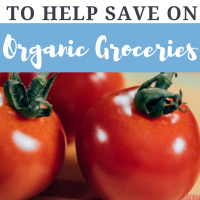 10 Tips to Help Save on Organic Groceries