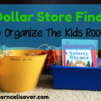 Dollar Store Finds for Your Kids Room