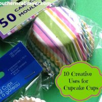 10 Creative Ways to use Cupcake Cups