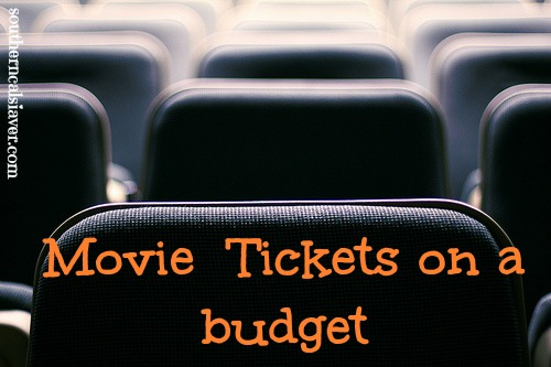 movie tickets on a budget