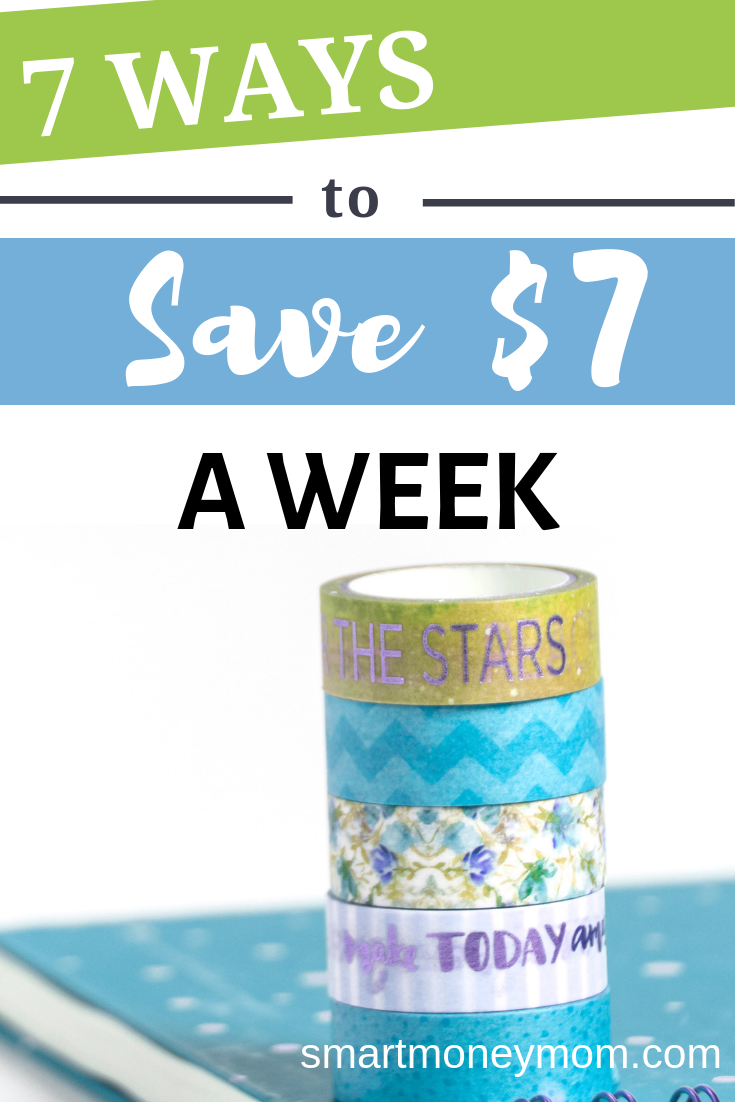 7 Ways to Save $7 a week. Take a look below at 7 ways to #save $7 a week in 2014 so you can be on your way to the cushion you have always wanted. #savingmoneytips #savingmoney #savingsplan #savingmoneytips