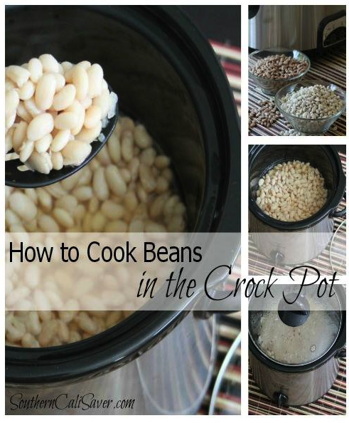 How to Cook Beans in the Crock Pot