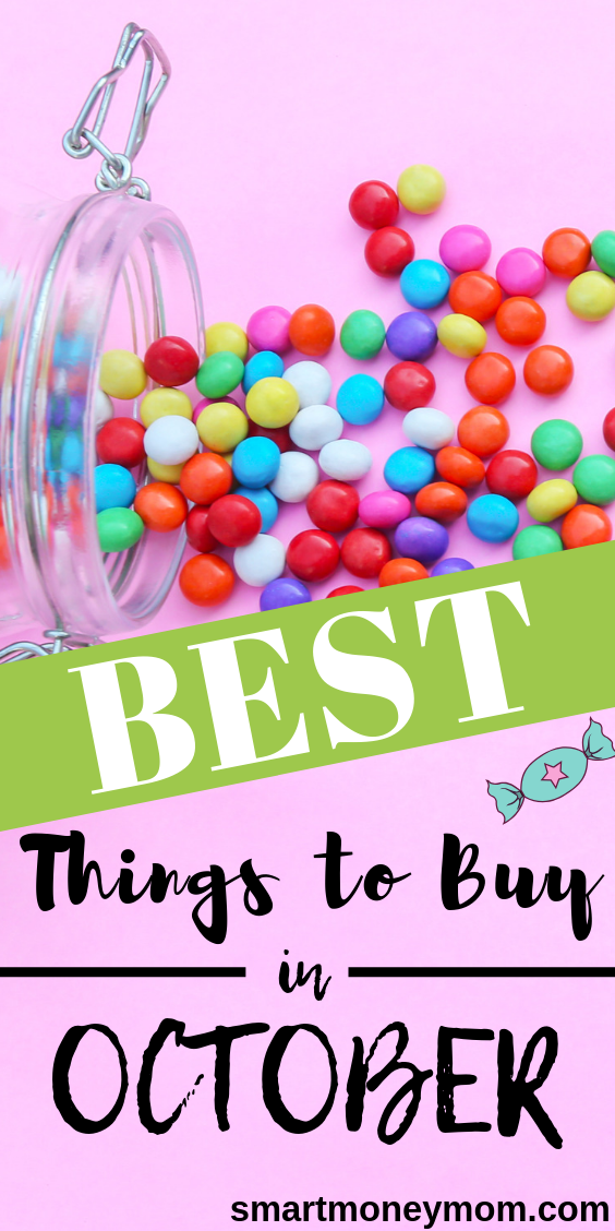 October is the perfect time of year to snag your pumpkins, but did you know that there are many items at their lowest prices during October as well? Take a this helpful list on what to buy in October!