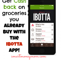 Get money back on grocery purchases with the Ibotta app