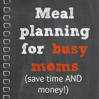 Meal Planning to save you money