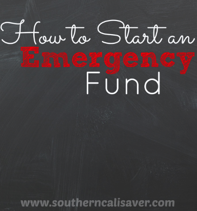 How to Start an Emergency Fund | 31 Day Budget Challenge