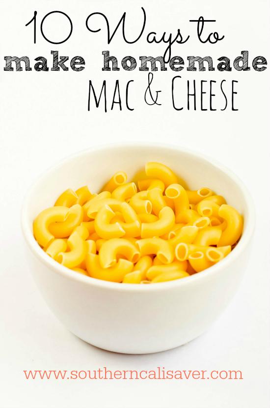 10 ways to make mac and cheese