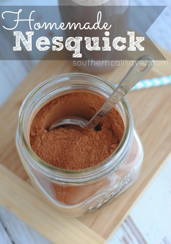 homemade Nesquick