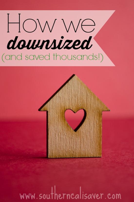 How we downsized