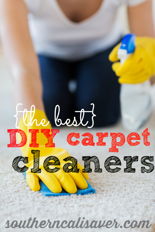 {BEST} DIY Carpet Cleaning Recipes