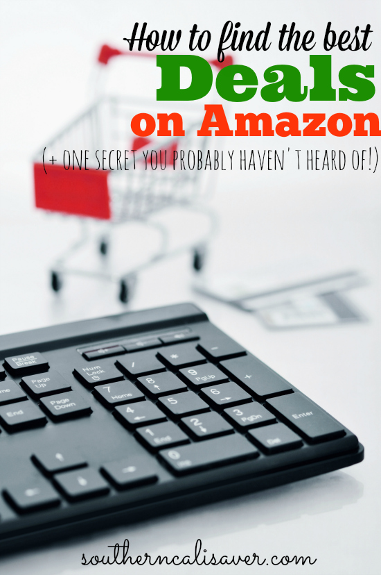 How to find the best deals on Amazon (+ one secret you probably haven't hear of!)