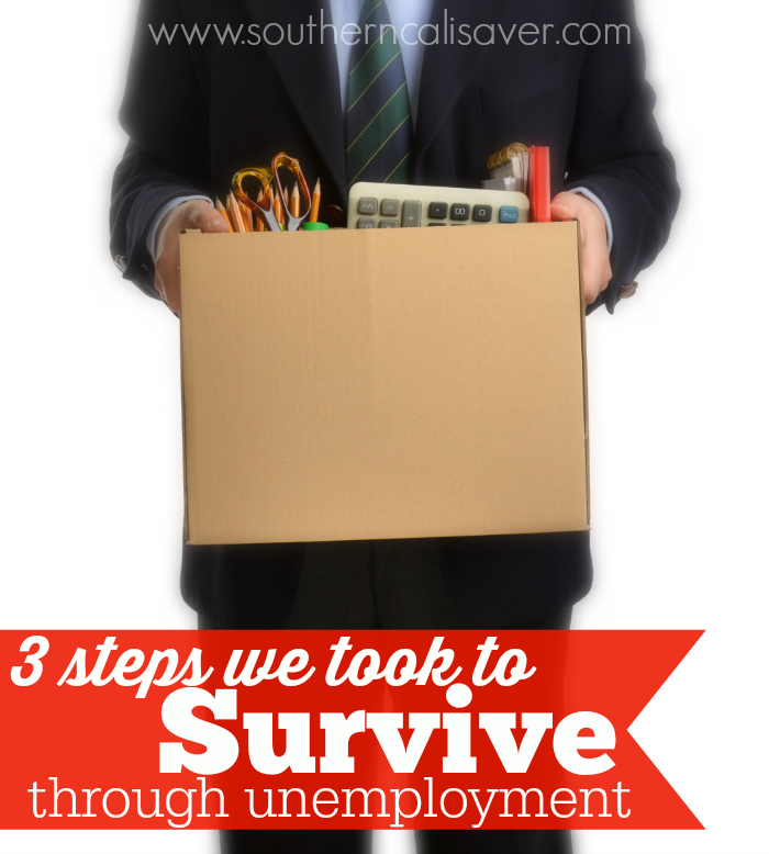 3 Steps we took to survive through unemployment