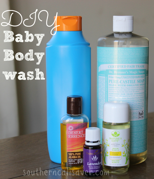 DIY Baby Body wash