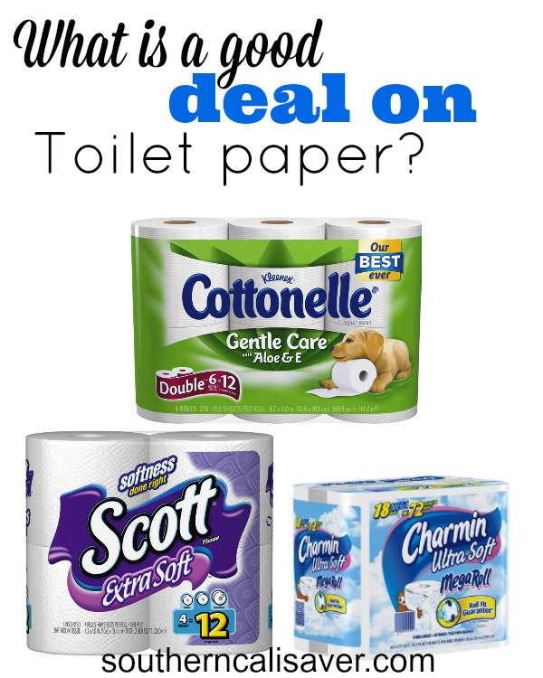 What is a good deal on Toilet Paper?