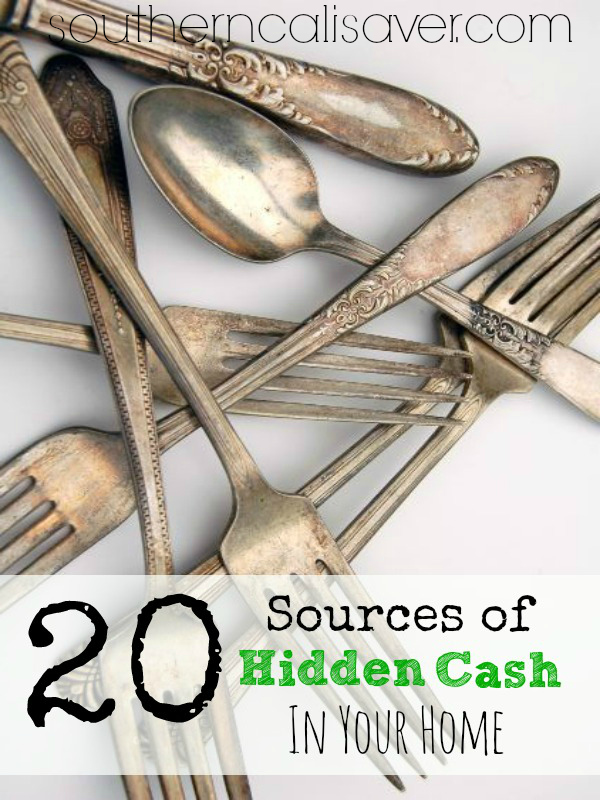 20 Sources of Hidden Cash in Your Home