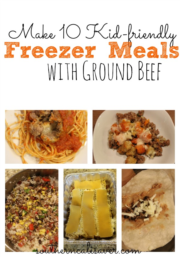 10 Freezer Meals made with Zaycon Ground Beef