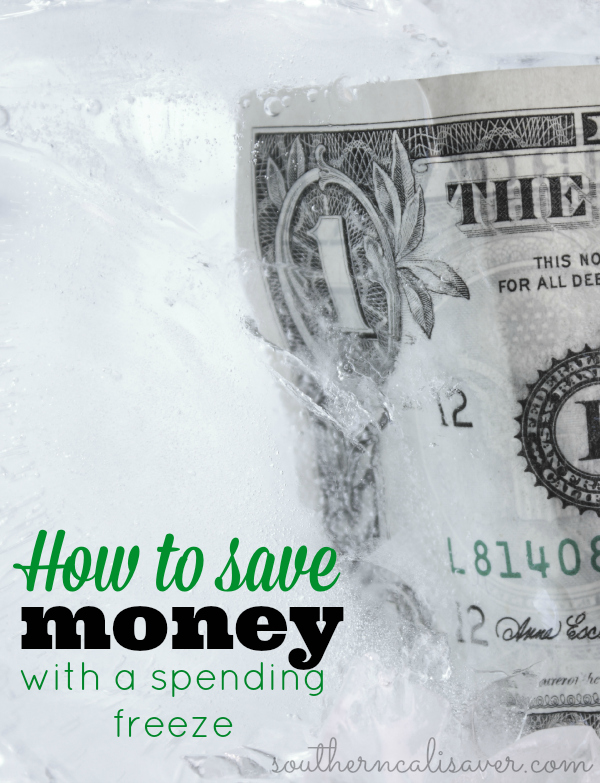 How to save money with a spending freeze