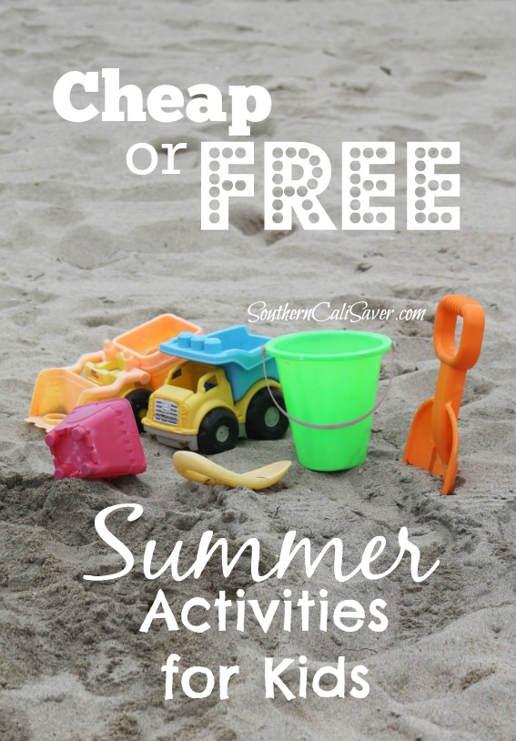 FREE or Cheap Summer Activities for the Summer