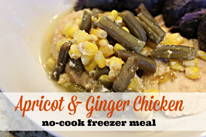 Apricot and Ginger Chicken