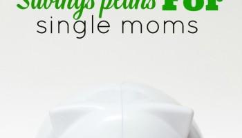 savings plans for single moms