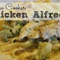Slow Cooker Chicken Alfredo