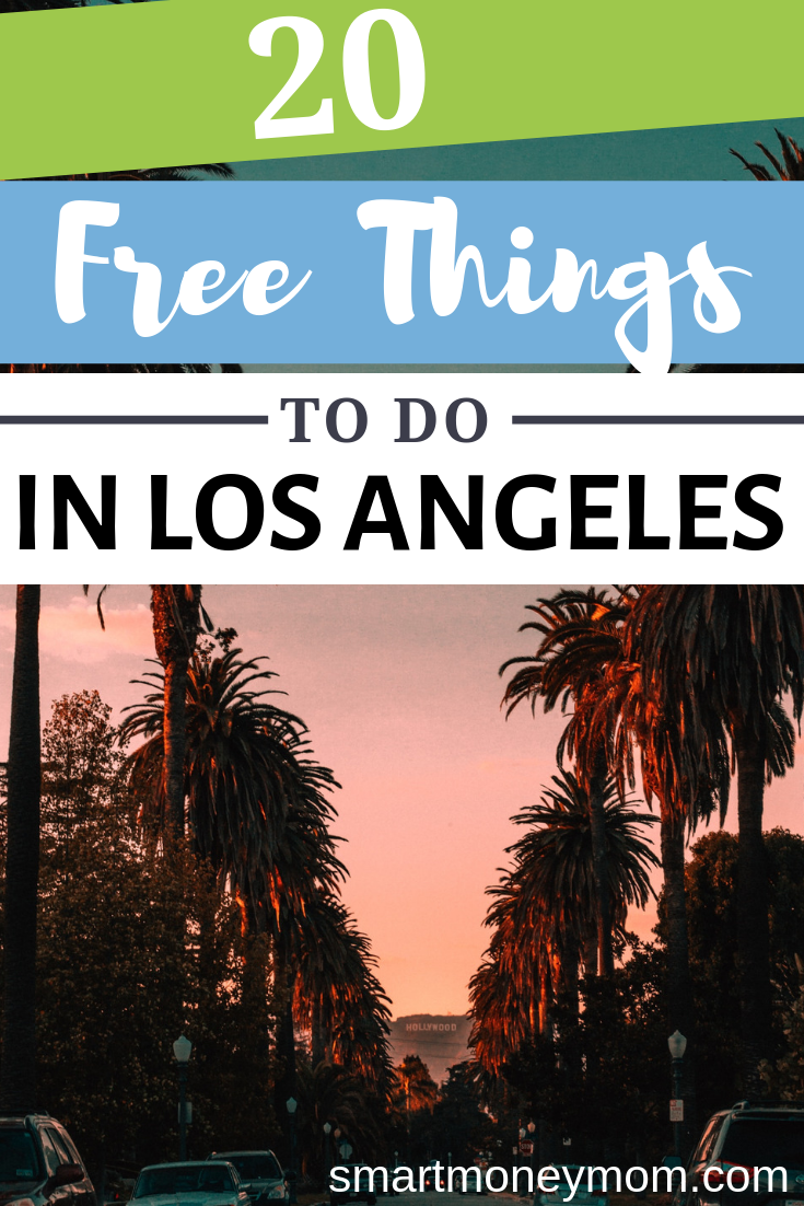 These 20 free things to do in Los Angeles will keep you and your family busy when you visit this city bursting with celebrities and entertainment.