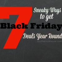 7 Sneaky Ways To Get Black Friday Deals Year Round
