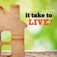 How much does it take to LIVE?