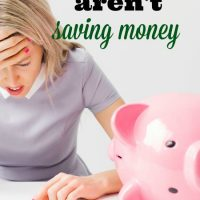 Why you aren't saving money…