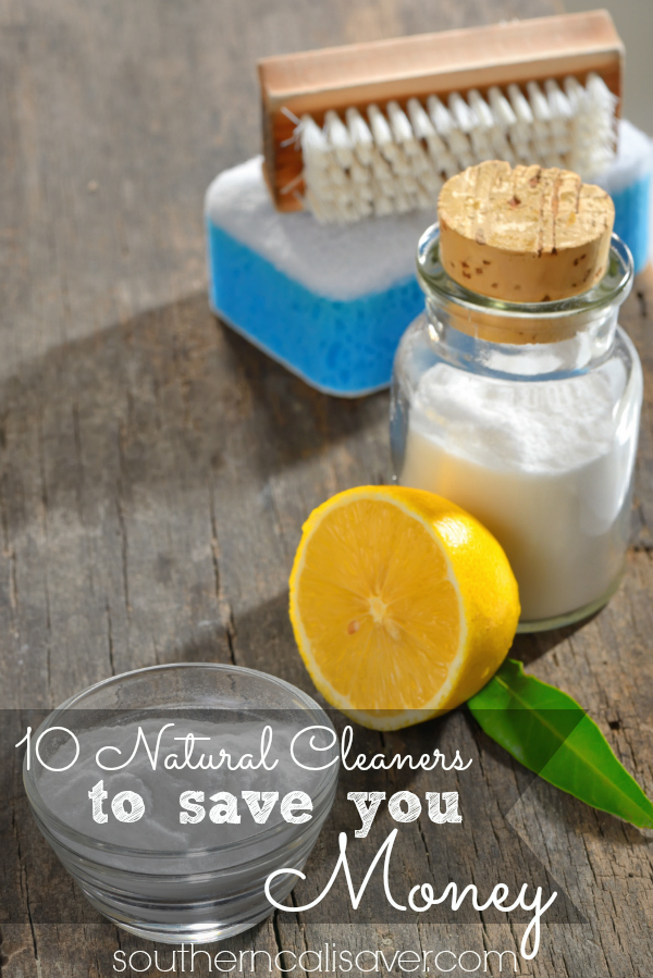 10 natural cleaners to save you money