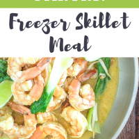Shrimp & Veggie Stir Fry: Freezer Skillet Meal