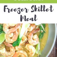 Shrimp & Veggie Stir Fry: Freezer Skillet Meal