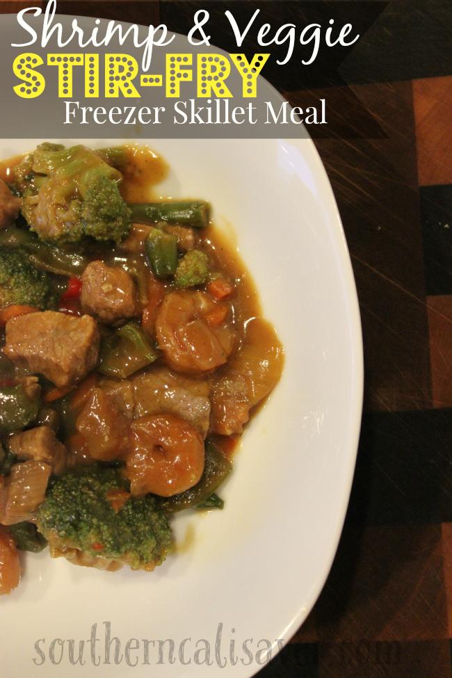 Shrimp & Veggie Stir-Fry