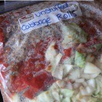 Unstuffed Cabbage Rolls: Freezer Skillet Meal