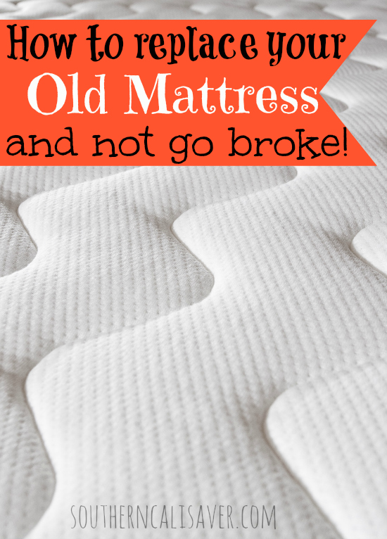 how to replace your mattress