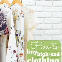 How to buy high-end clothes, at Walmart Prices