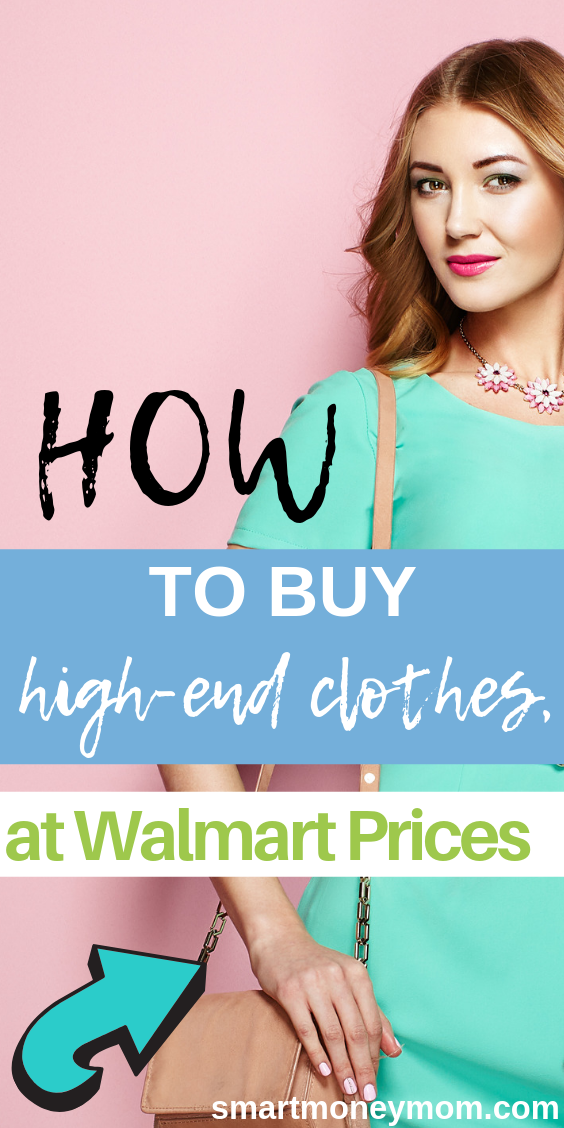 In finding budget friendly ways to shop for high-end clothes, you will likely have to be willing to buy used stuff. #savingtips #savingplan #savemoney #frugaltips