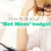 """How to Fix Your """"Hot Mess"""" Budget"""