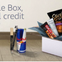 List of Amazon Sample Boxes + Energy Drink Box (Free after credit!)