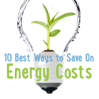 10 Best Ways to Save On Energy Costs