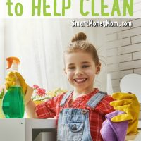 12 Ways to Get Your Kids to Help Clean