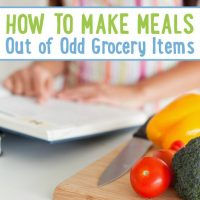 How to Make Meals Out of Odd Grocery Items