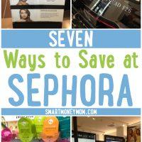 7 Ways to Save Money at Sephora