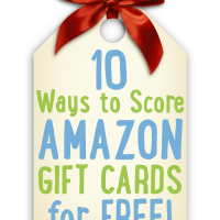 10 Ways to Score Amazon Gift Cards For Free