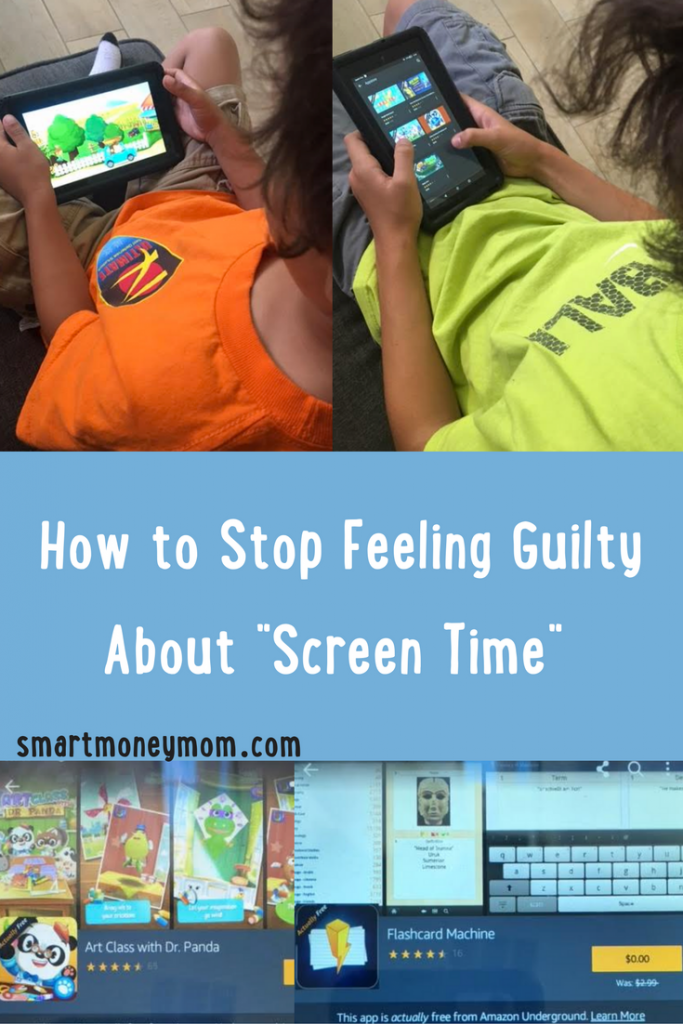 How To Stop Feeling Guilty About Screen Time
